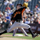 Lincecum pitches 3 solid, Pence homers for Giants The Associated Press