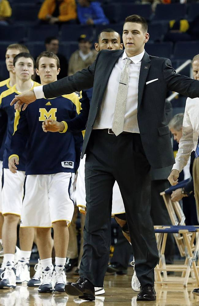 McGary won't play in opener for No. 7 Michigan