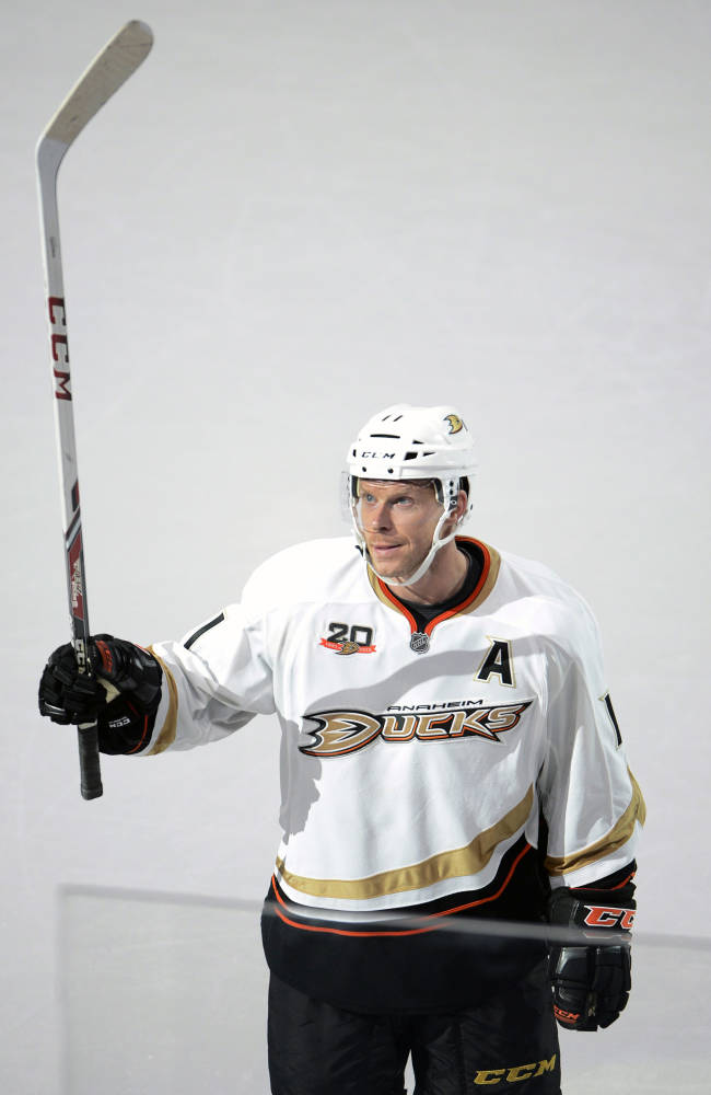 Injured Koivu, Fasth sent home by Anaheim