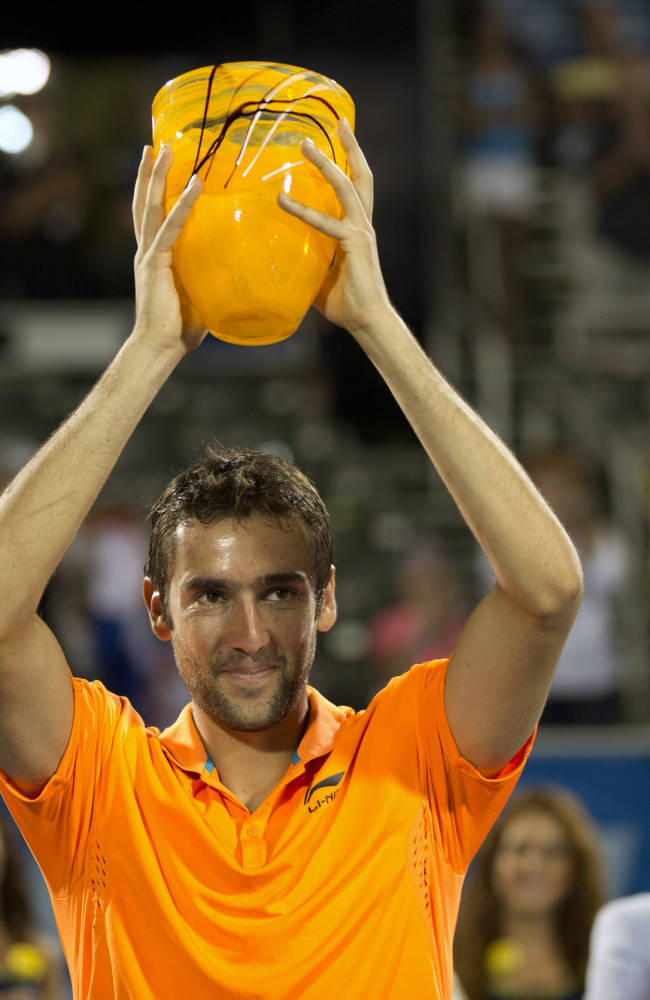 Marin Cilic wins Delray Beach Open