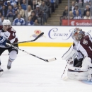 Avalanche place Varlamov on injured reserve The Associated Press