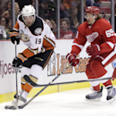 Getzlaf lifts Ducks to 3-2 win over Red Wings The Associated Press