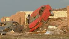 Oklahoma Tornado: Neighborhood Left in Destruction