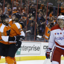 Giroux, Voracek lead Flyers past Capitals, 6-4 The Associated Press