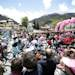 Cyclists start the 15th stage of the Giro d'Italia, Tour of Italy cycling race,  from Cesana to Col Du Galbier,  Italy, Sunday, May 19, 2013