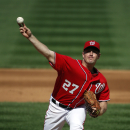 Zimmermann's no-hitter for Nats ends on great grab The Associated Press