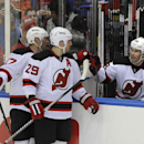 Jagr nets 700th NHL goal in Devils' rout of Isles The Associated Press
