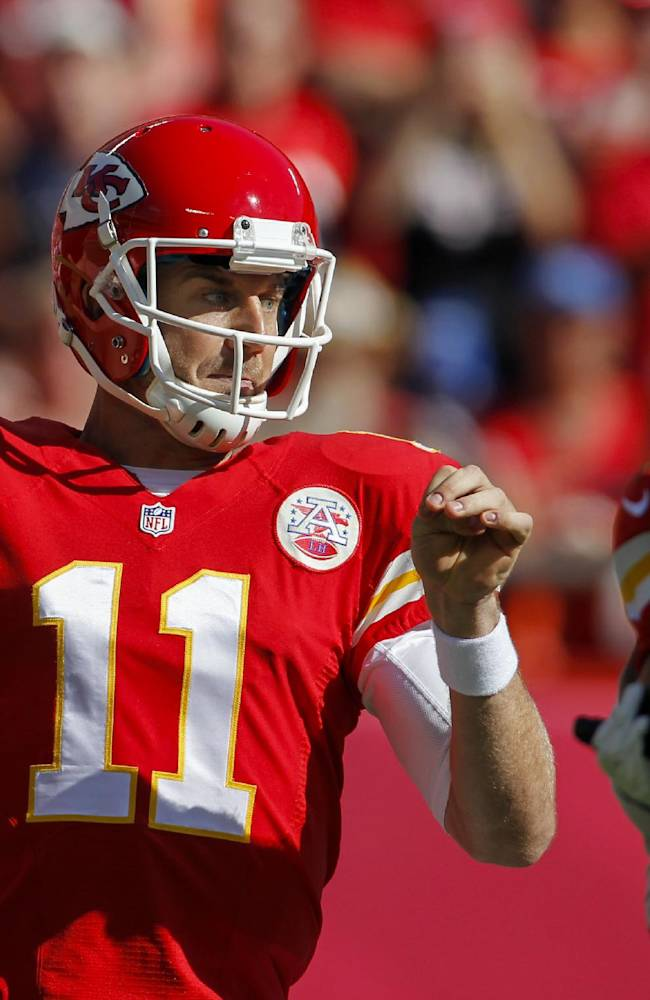 Chiefs QB Smith to practice after shoulder injury