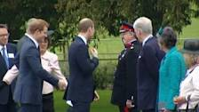 Britain's Princes William and Harry open care centre for soldiers