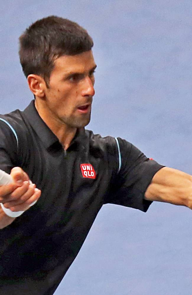 Djokovic, Nadal, Federer, Ferrer advance in Paris