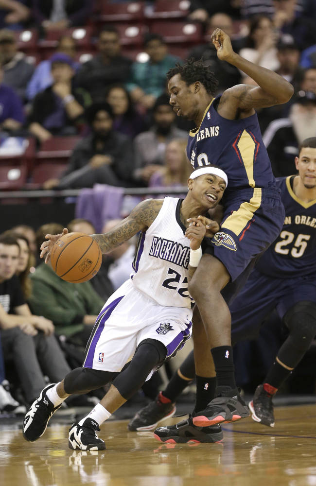 Cousins, Thomas lead Kings past slumping Pelicans