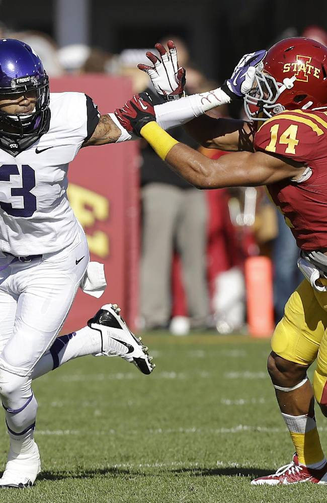 TCU WR Brandon Carter faces drug possession count