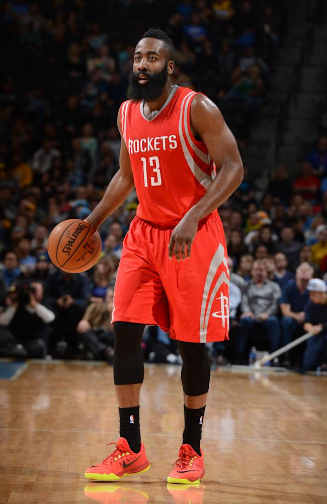 Harden scores 41, Rockets beat Nuggets in OT