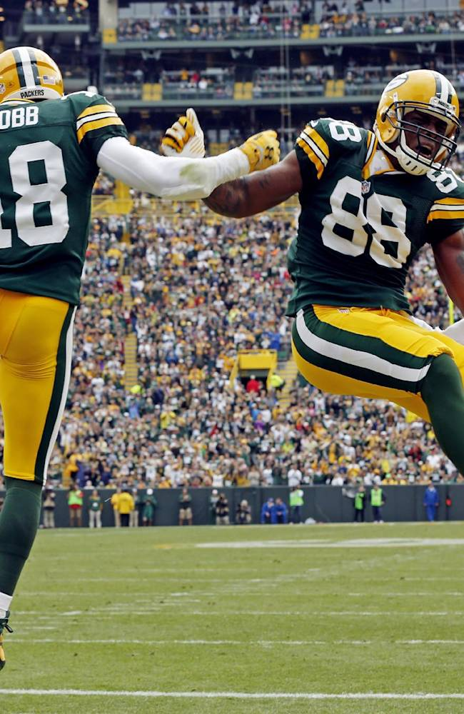 Packers TE Finley promising hard knocks this year