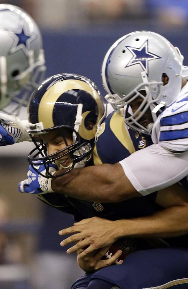 Cowboys' Hatcher leading with words - and actions