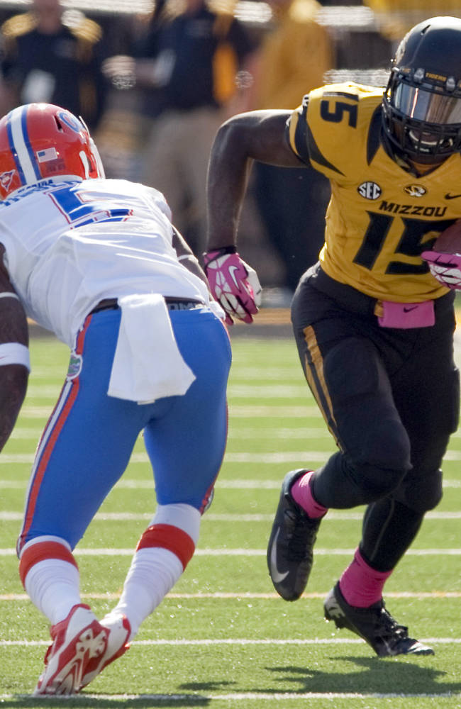Police: no arrest in case involving Missouri WR
