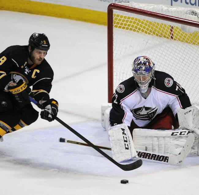 Blue Jackets edge Sabres, extend win streak to 6