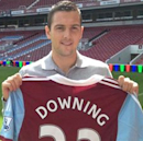 West Ham confirms Downing capture
