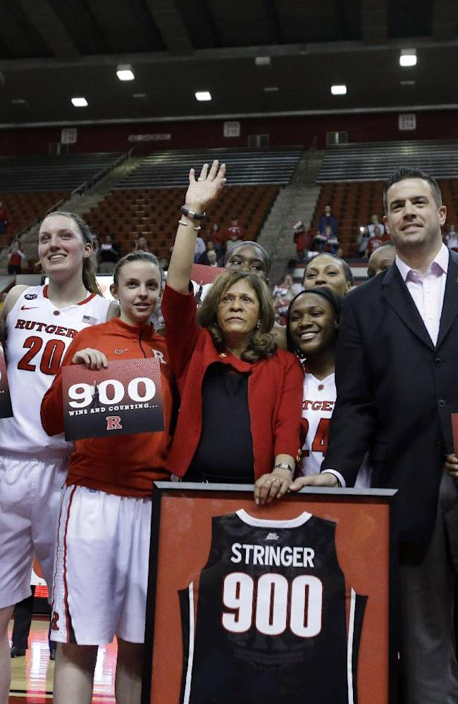 Stringer agrees to 4-year contract with Rutgers
