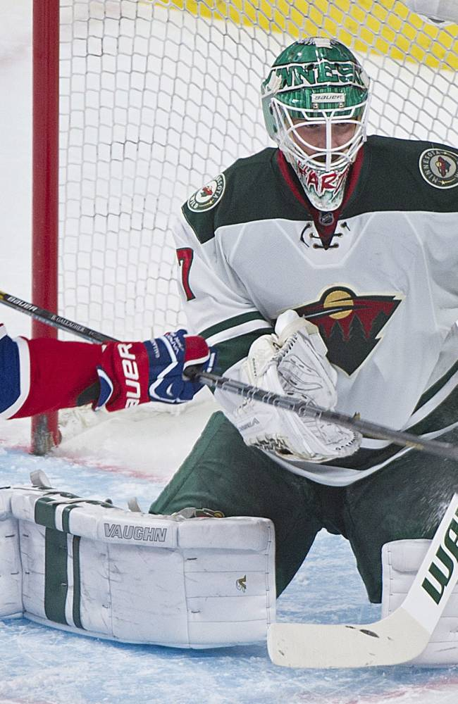 Pacioretty's hat trick leads Habs over Wild 6-2