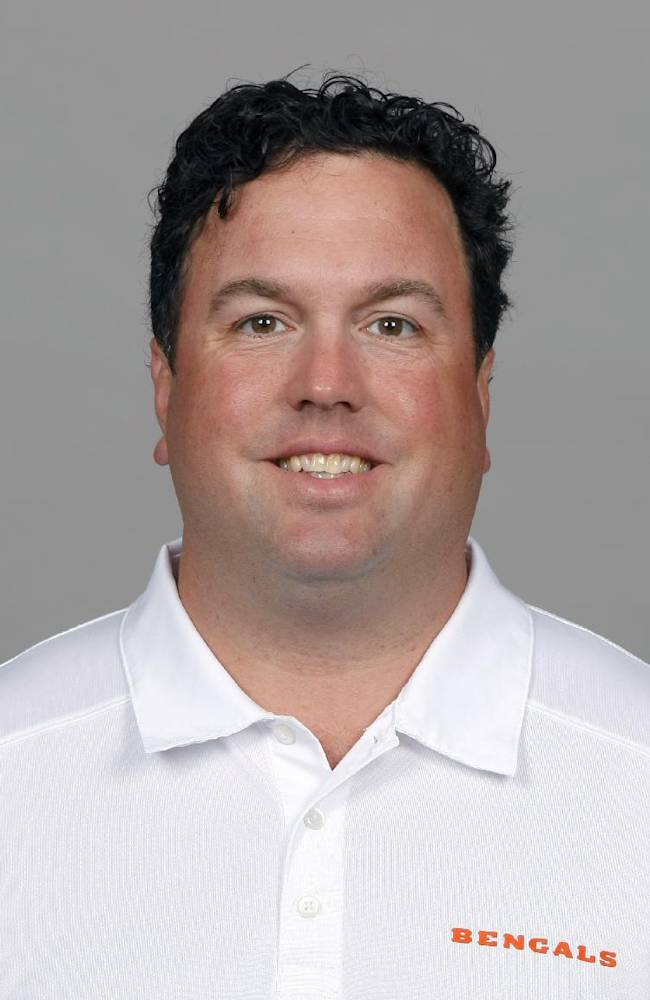 This is a 2013 photo of Paul Guenther of the Cincinnati Bengals NFL football team. This image reflects the Cincinnati Bengals active roster as of Monday, May 20, 2013 when this image was taken. (AP Photo)