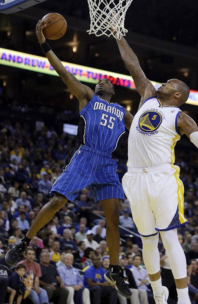Undermanned Warriors overwhelm Magic, 103-89