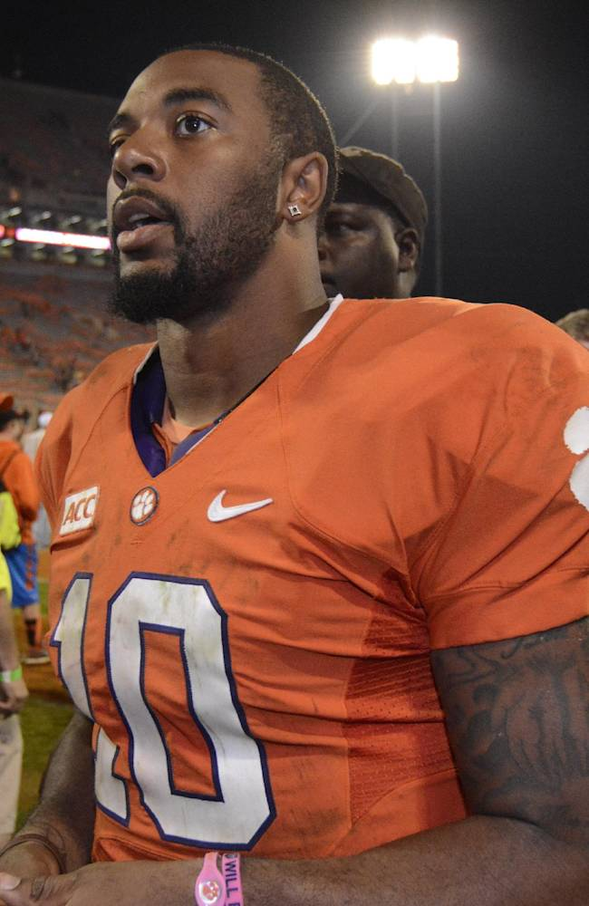 Clemson's Boyd looks to put FSU loss behind him