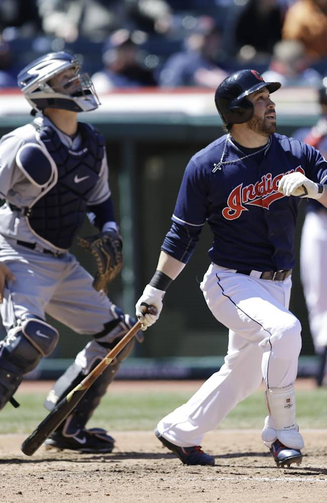 Indians McAllister shuts down Padres 2-0 in Game 1