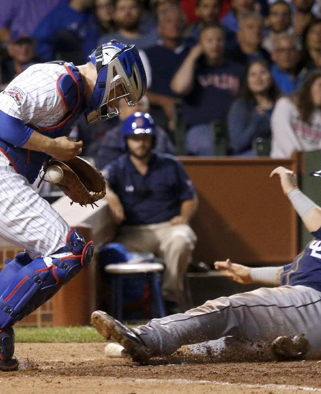 Padres rout Cubs 13-3