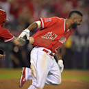 Angels rally in 10th for 4-3 win over Oakland (Yahoo Sports)