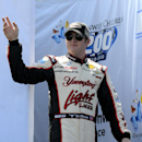 Ty Dillon is seen during drivers introductions for the NASCAR Nationwide Series Nationwide Children's Hospital 200 auto race at Mid-Ohio Sports Car Course Saturday, Aug. 16, 2014 in Lexington, Ohio. (AP Photo/Tom E. Puskar)