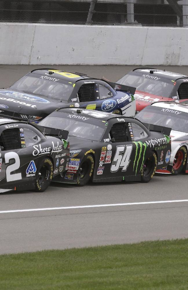 Busch wins at Michigan in return to Xfinity Series