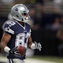 Dallas Cowboys wide receiver Terrance Williams runs into the end zone after catching a 12-yard touchdown pass during the fourth quarter of an NFL football game against the St. Louis Rams, Sunday, Sept. 21, 2014, in St. Louis. (AP Photo/Tom Gannam)