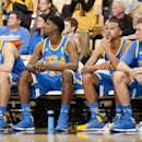 UCLA players on the bench watch the final seconds tick off the clock in the second half of an NCAA college basketball game against Missouri Saturday, Dec. 7, 2013, in Columbia, Mo. Missouri won the game 80-71 The Associated Press