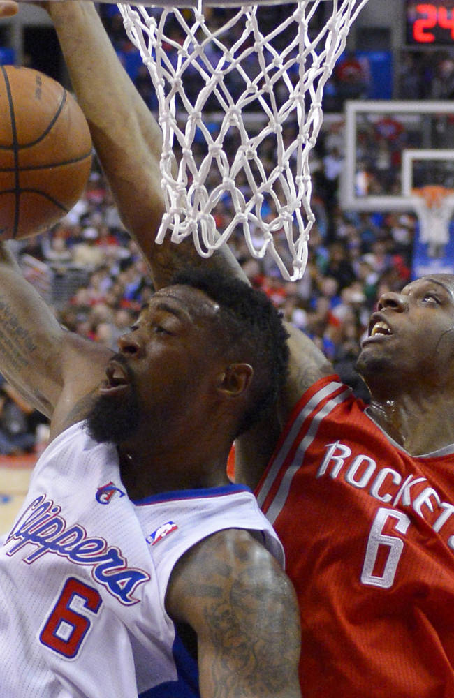 Griffin, Collison help Clippers top Rockets 101-93