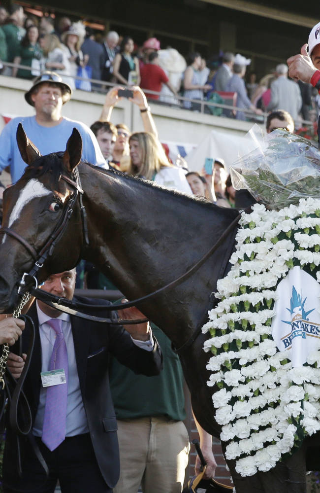 California Chrome's Triple try ends in defeat