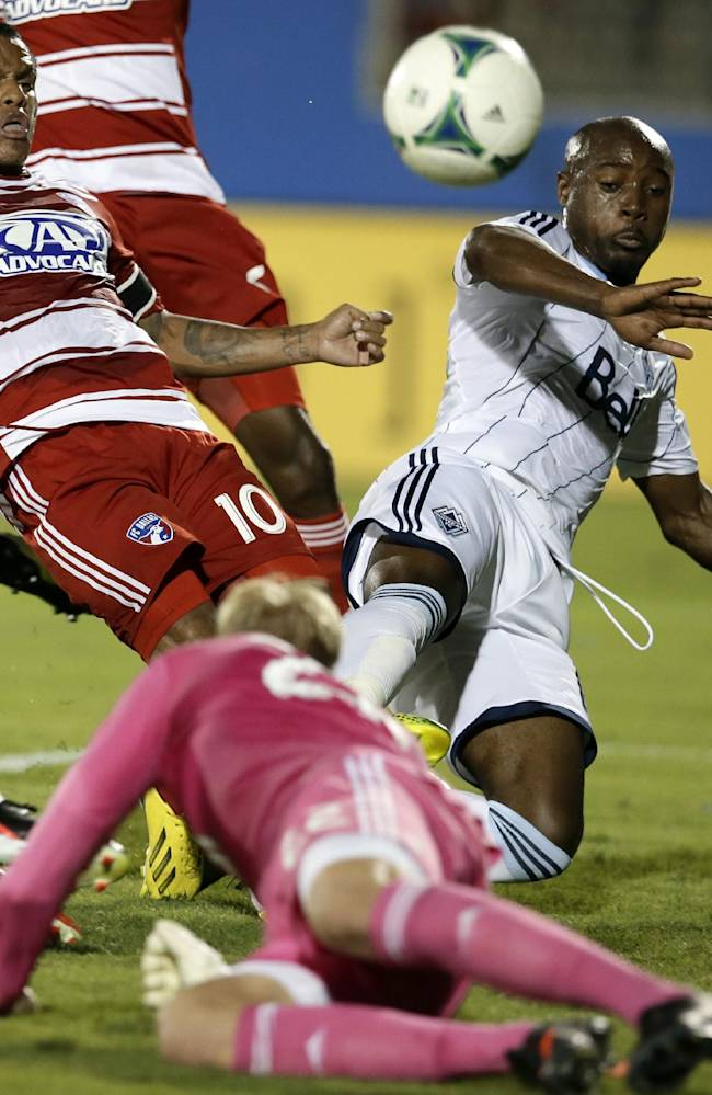 Diaz, Benitez lead FC Dallas past Whitecaps