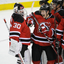 Devils GK Martin Brodeur isn't going anywhere The Associated Press