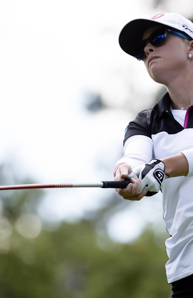 Laura Diaz shoots 62 to lead Marathon Classic by 4