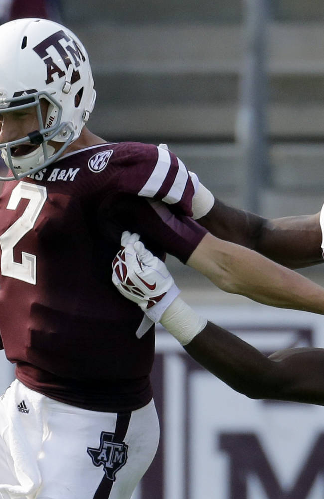 Manziel racking up big numbers for Texas A&M
