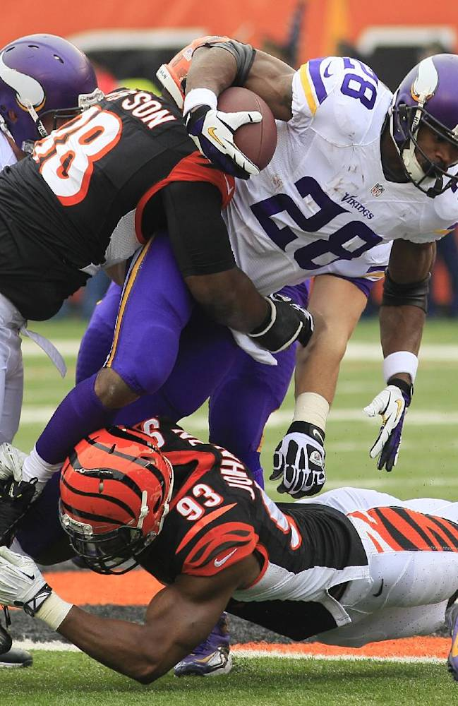Vikings rule Peterson out for Sunday's finale
