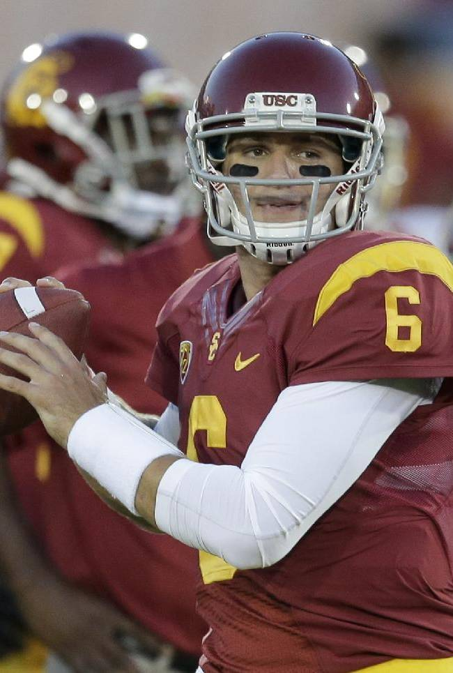 Kiffin picks Kessler to start for USC against BC