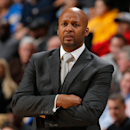 FILE - MARCH 3, 2015: It has been reported that Denver Nuggets head coach Brian Shaw has been fired after less than two seasons March 3, 2015. DENVER, CO - JANUARY 20: Head coach Brian Shaw of the Denver Nuggets looks on as he leads his team against the San Antonio Spurs at Pepsi Center on January 20, 2015 in Denver, Colorado. The Spurs defeated the Nuggets 109-99. (Photo by Doug Pensinger/Getty Images)