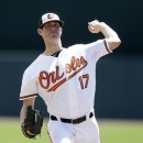 Orioles reliever leaves game after umps inspect his forearm The Associated Press