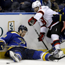 Blues hold off Devils 4-3 for 7th straight win The Associated Press
