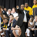 Missouri head coach Frank Haith shouts instructions to his team during the second half of an NCAA college basketball game against UCLA Saturday, Dec. 7, 2013, in Columbia, Mo. Missouri won the game 80-71 The Associated Press