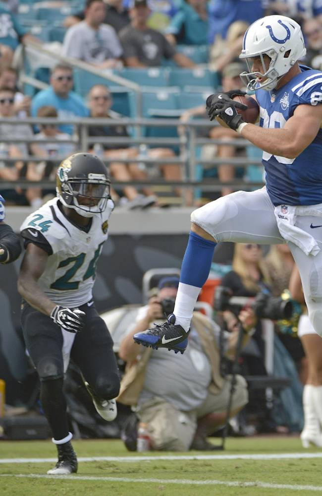 Fleener taking on bigger role in Colts' success