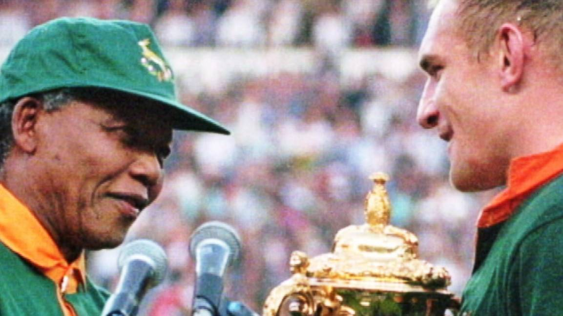 The Powerful Moment That Took Place the Day Nelson Mandela Put on a Rugby...