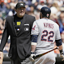 Cleveland's Jason Kipnis ejected at Detroit The Associated Press