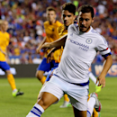 Chelsea FC midfielder Eden Hazard (10) in action on Tuesday,July,28, 2015, in Landover, Maryland. Chelsea and FC Barcelona face off at the 2015 International Champions Cup. Damian Strohmeyer/AP Images for International Champions Cup